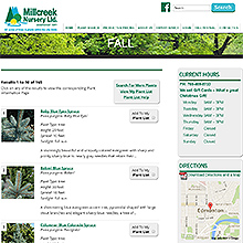 Millcreek Nursery Plant Finder